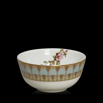 Le Jardin Light Cyan Soup Bowl