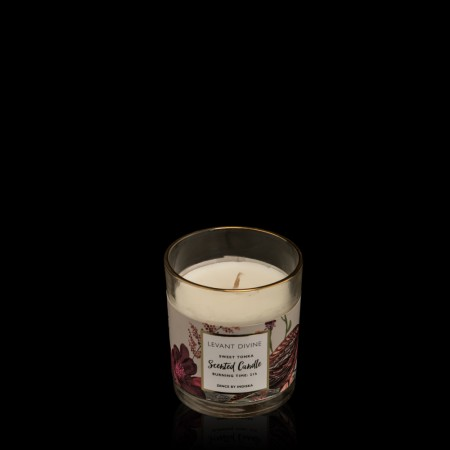 Highly Scented Glass Candle