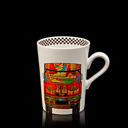 deco truck coffee mug